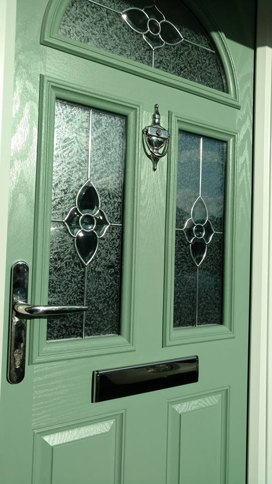 Chartwell green composite door supplied fitted in for Composite door design your own