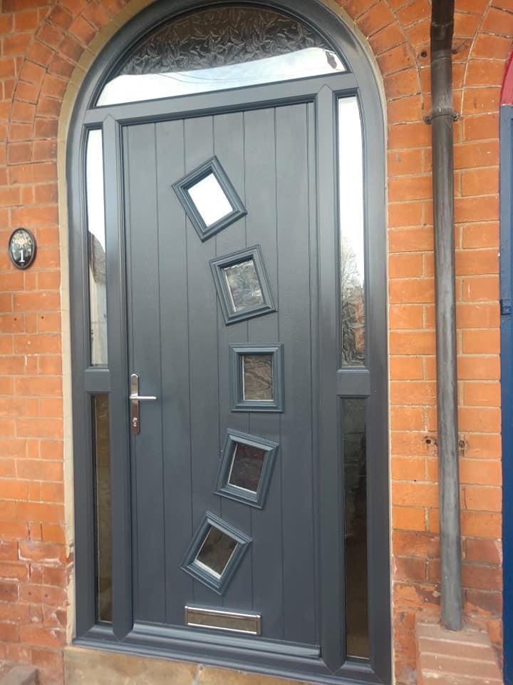 Arched Frame Composite Front Doors Bespoke Door