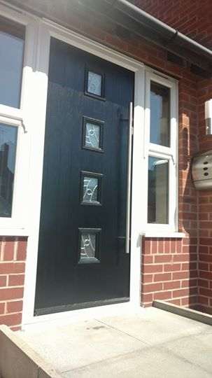 Composite doors fitted in mansfield woodhouse bespoke for Composite door design your own