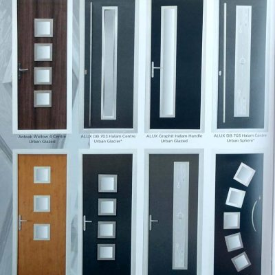 smooth skin composite doors