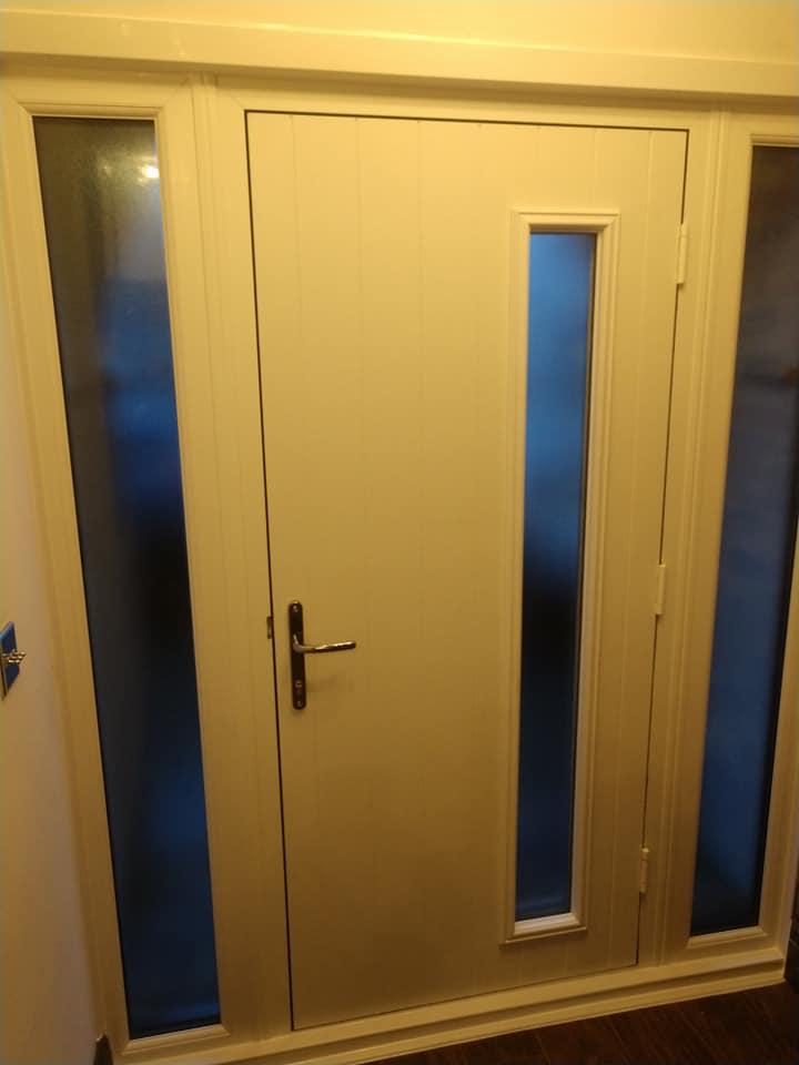 Stippolyte Glass Door Fitted In Mansfield Bespoke Door